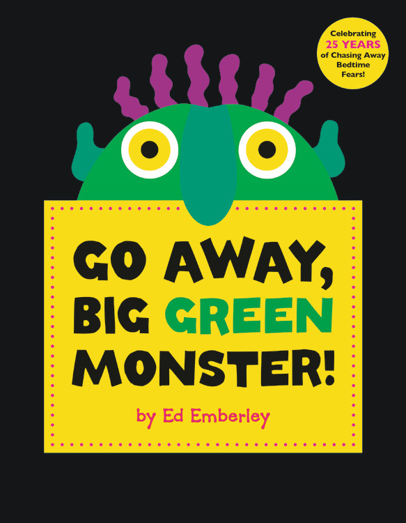 Go Away, Big Green Monster! (Hardcover) by Little Brown & Co Inc