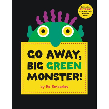 Go Away, Big Green Monster! (Hardcover) (Going Away Decoration Ideas)