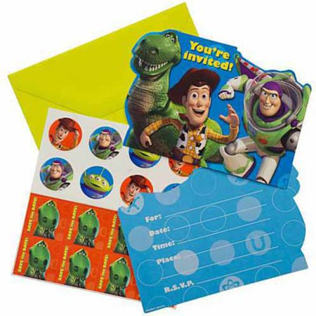 Toy Story Invitations - Ariel Invitations