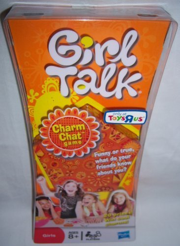 Girl Talk Game Charm Chat, Fun game for girls, 3-4 players By Hasbro by