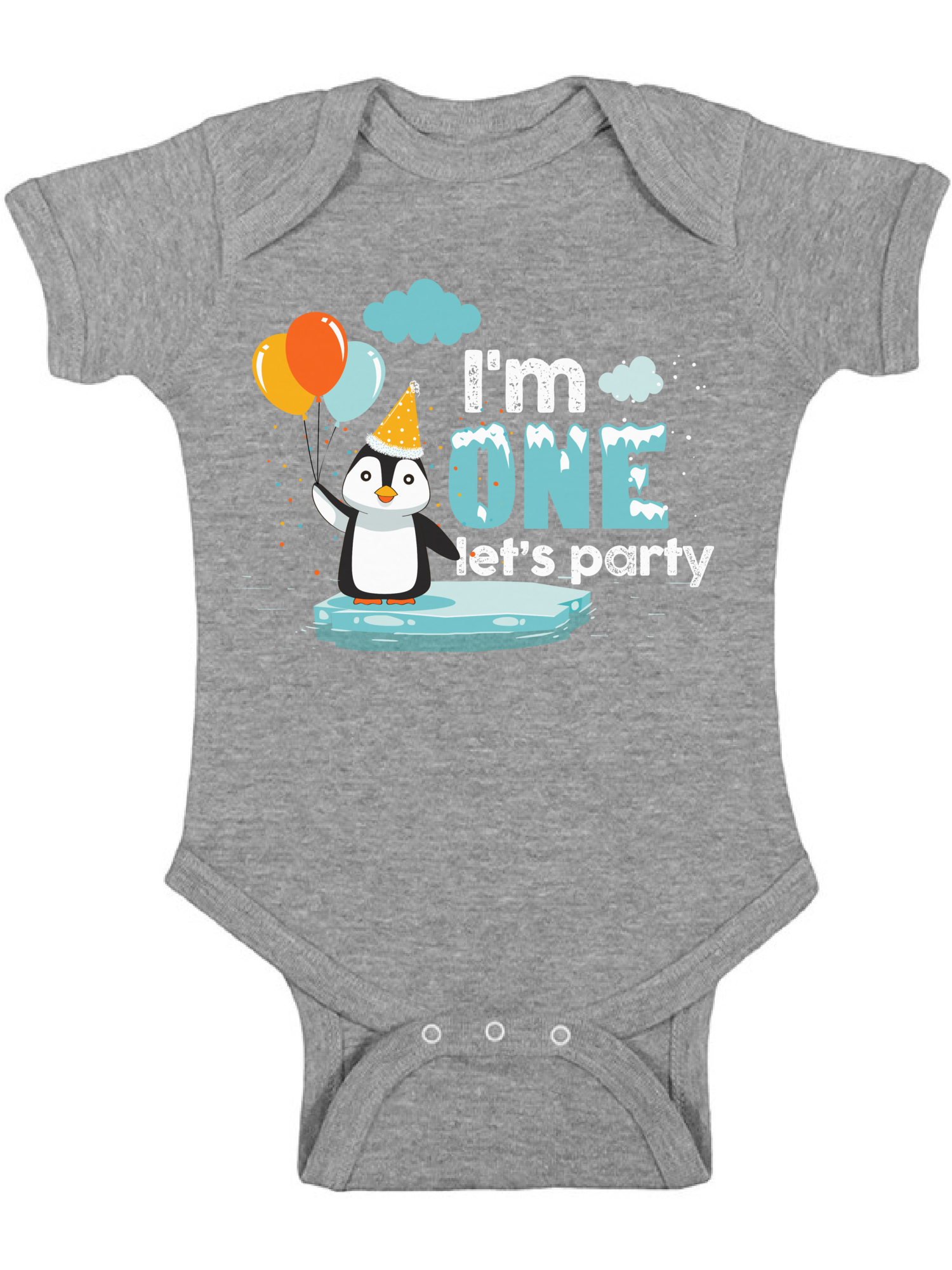 First Birthday Baby Birthday Baby One-Piece Baby Onepiece Baby Shower Baby Gift Penguin Chillin Funny Baby Bodysuit