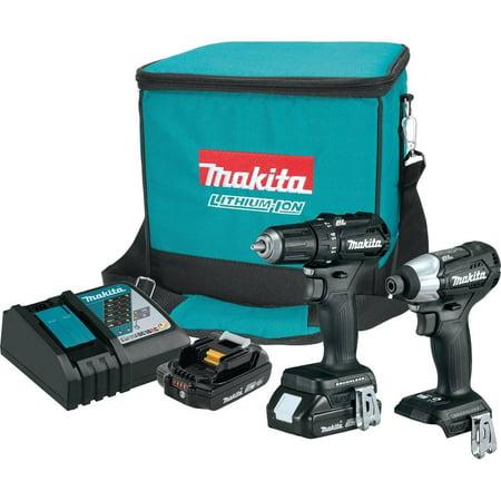 Makita 18V LXT® Lithium-Ion Sub-Compact Brushless Cordless 2-Pc. Combo Kit (2.0Ah)