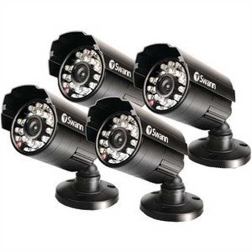 Refurbished Swann SWPRO-530PK4-US Pro-530 Day/Night 600TVL CMOS Camera (Black)