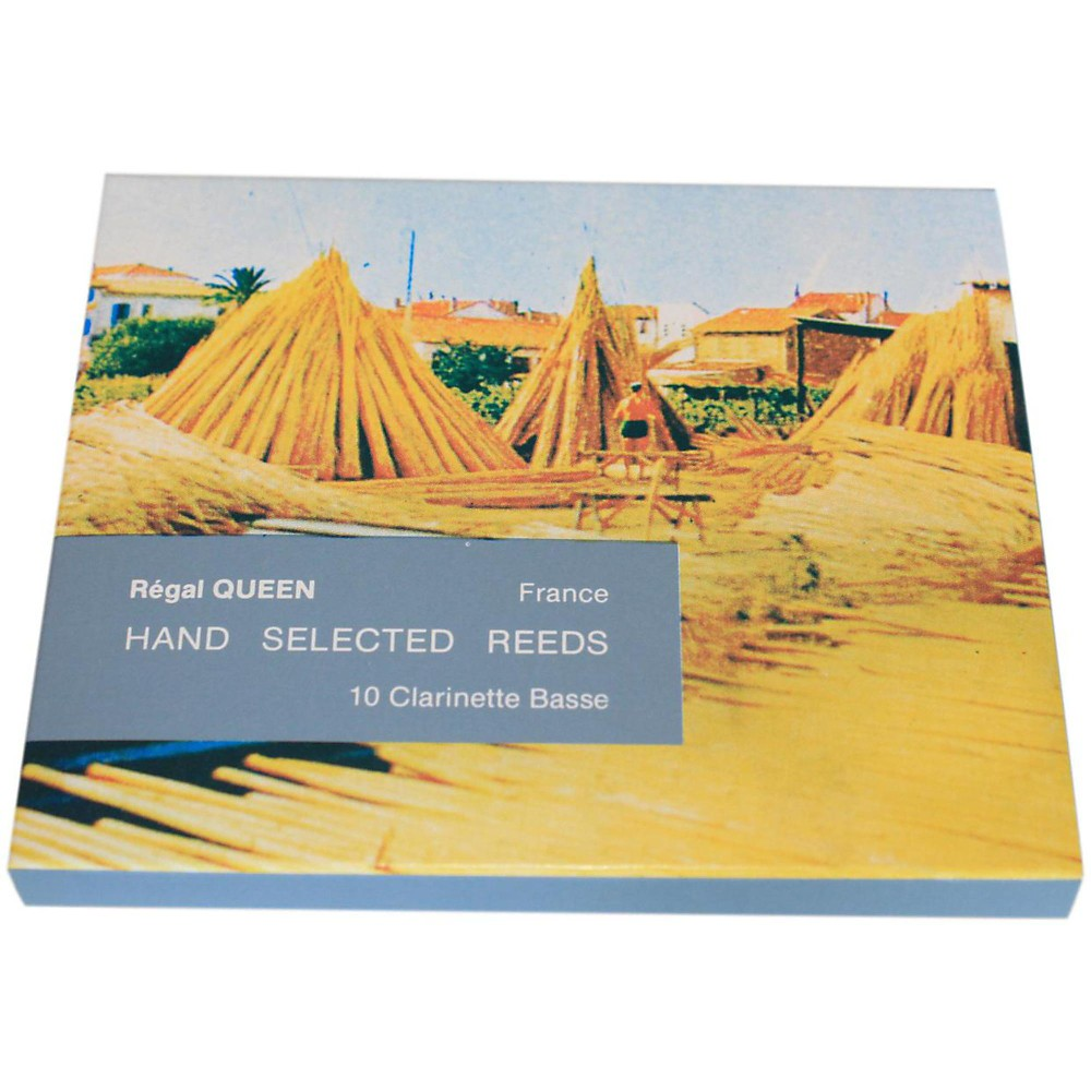 Rigotti Queen Reeds for Bass Clarinet Strength 4 Box of 10