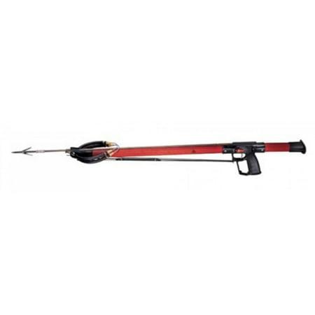 Ab Biller Stainless Steel Speargun (AB Biller 24in Snubnose Speargun - Padauk for Scuba Diving and)