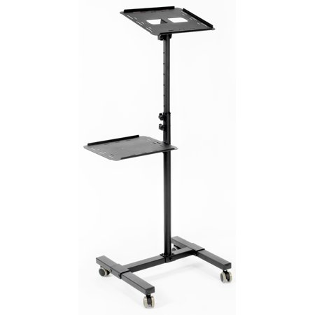 lling Projector Stand | Height Adjustable Projector & Laptop Trolley Presentation Cart (CART-V04C) (Electronic Trolley)