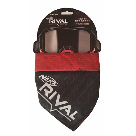 Nerf Rival Face Bandana (Red)](Red Pirate Bandana)