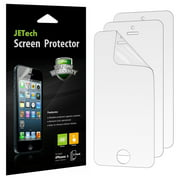 iPhone 5s Screen Protector, JETech 3-Pack iPhone SE 5 5S 5C HD Screen Protector Film Retail Packaging