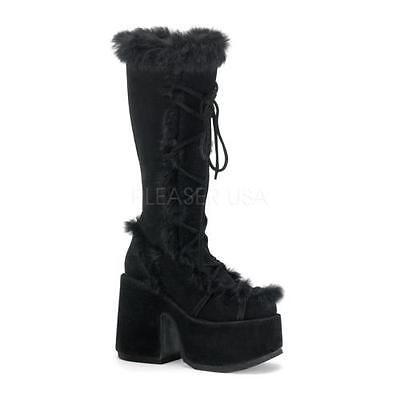 Click here to buy CAM311 B SUE Demonia Platform Sandals & Shoes Womens BLACK Size: 9.