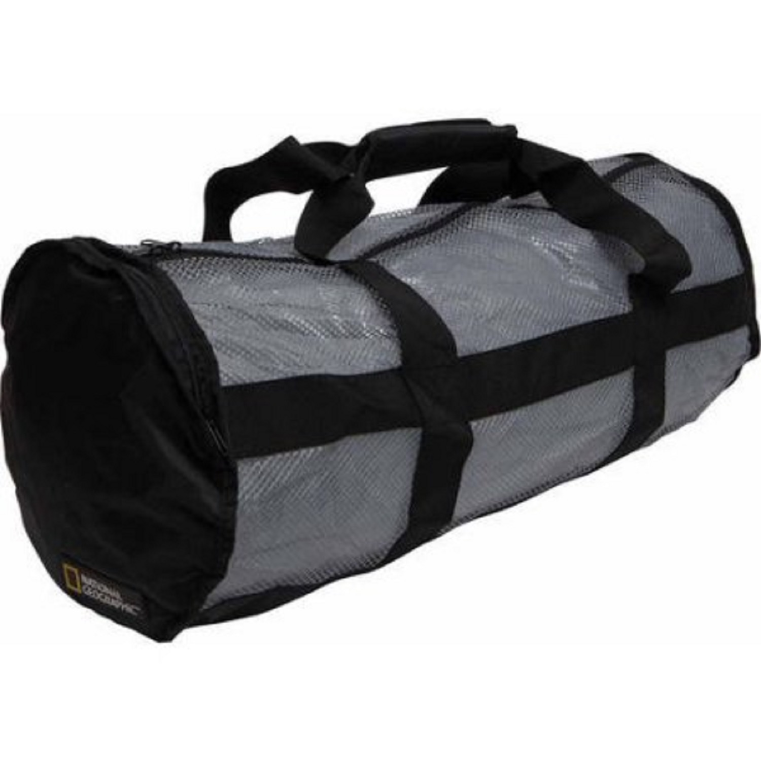 National Geographic Clamshell Deluxe Drawstring 2-Pocket Duffle by National Geographic Snorkeler