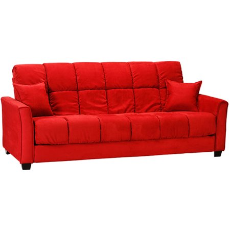 Baja convert a couch sofa bed red walmartcom for Baja convert a couch and sofa bed reviews