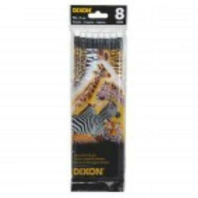 5PK Dixon No. 2 Animal Print Pencils - PK per pack - Animal Print Pencils