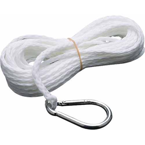 Seachoice Solid Braid Nylon Anchor Line, White