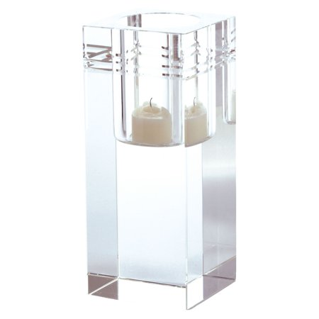 Dimond Home Square Crystal Collar Votive Candle Holder