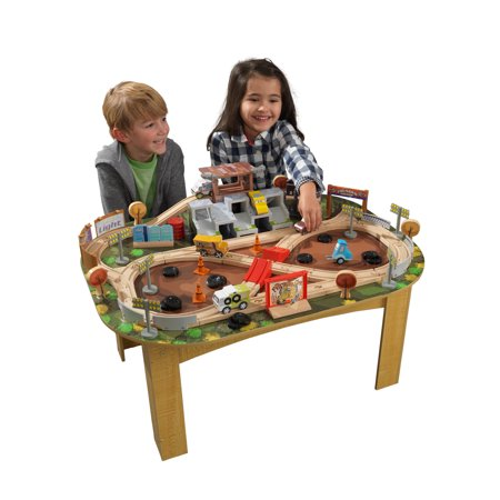 Disney Pixar Cars 3 Thunder Hollow Track Set & Table By KidKraft with 71 accessories included