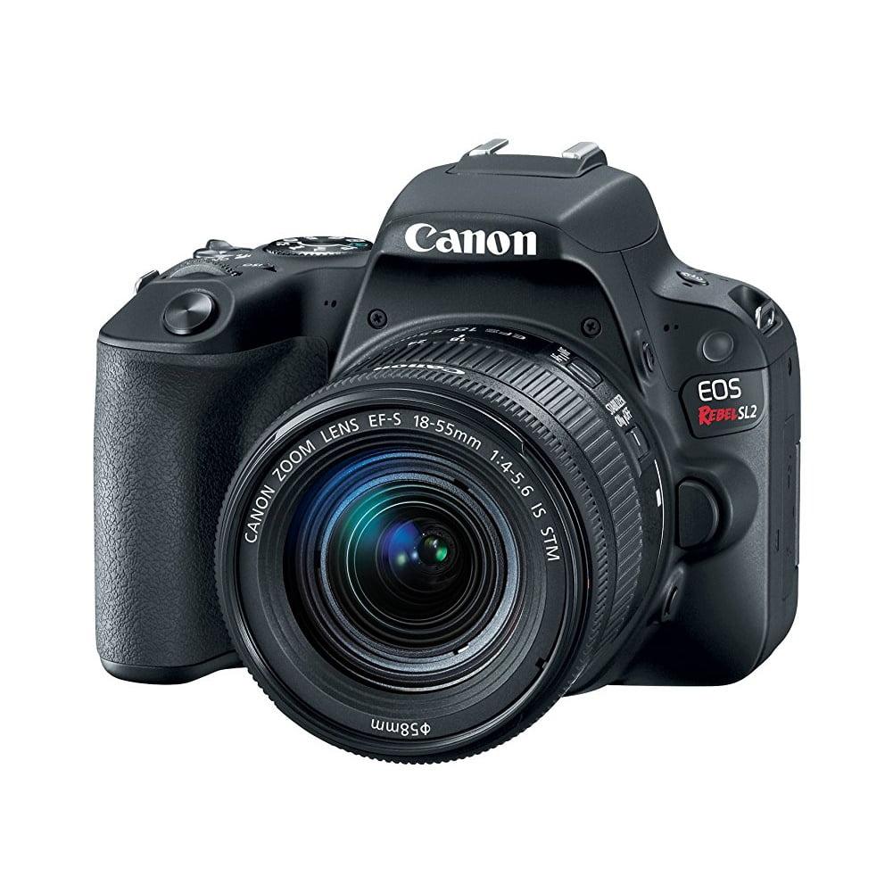 Canon EOS Rebel SL2 DSLR Camera with 18-55mm Lens (Black)