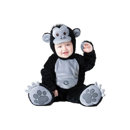 Infant Goofy Gorilla Costume Incharacter Costumes LLC - Baby Godzilla Costume