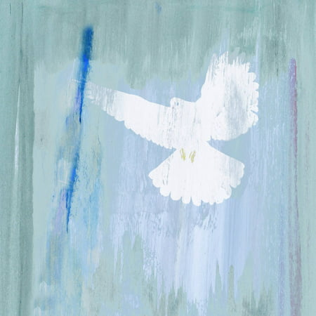 """""""Angelic Dove"""" Painting Print on Wrapped Canvas"""