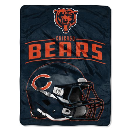 "Chicago Bears Nfl End (NFL Chicago Bears ""Franchise"" Micro Raschel Throw, 46"" X)"