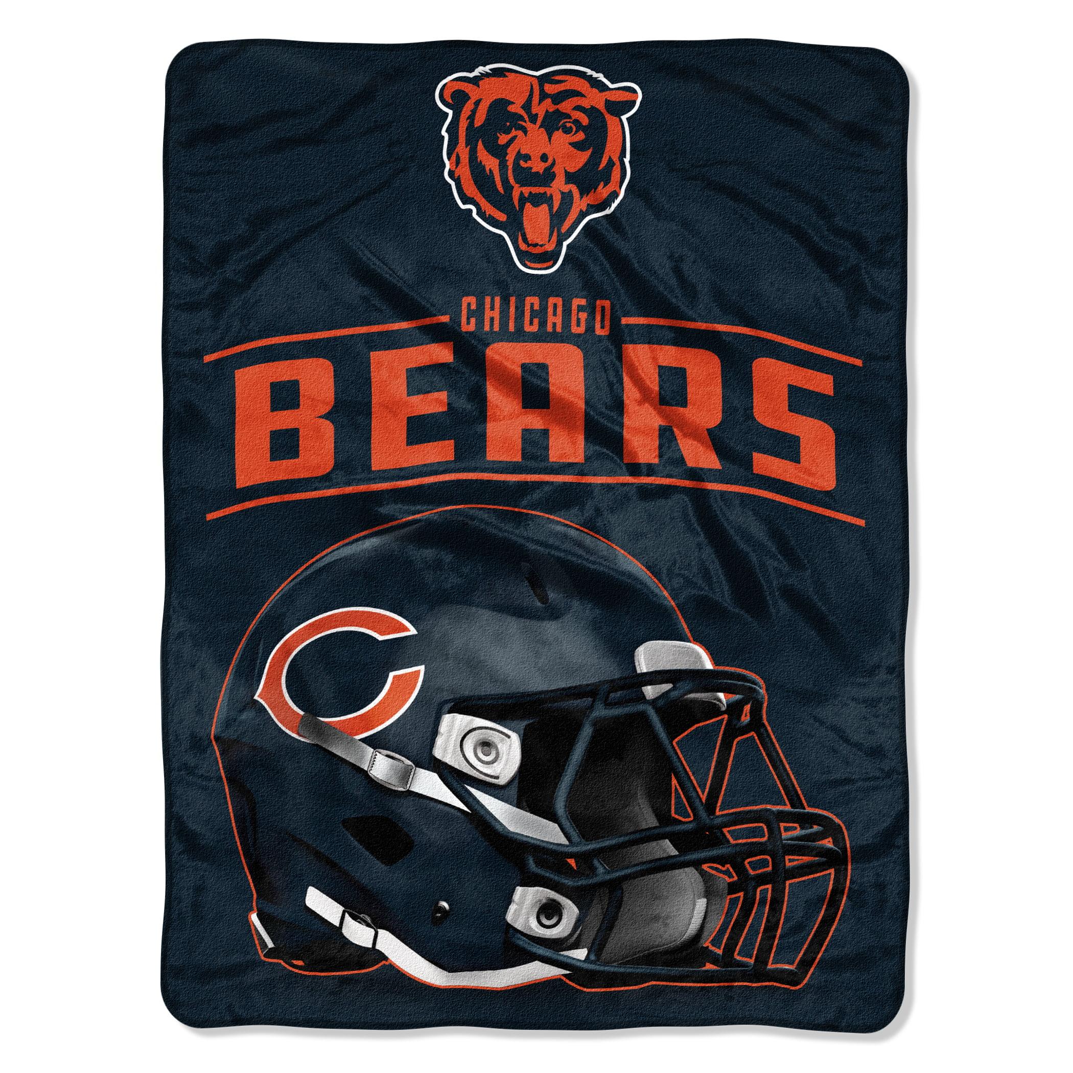 "NFL Chicago Bears ""Franchise"" Micro Raschel Throw, 46"" X 60"""