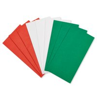 American Greetings Christmas Red, Green and White Tissue Paper, 125-Count