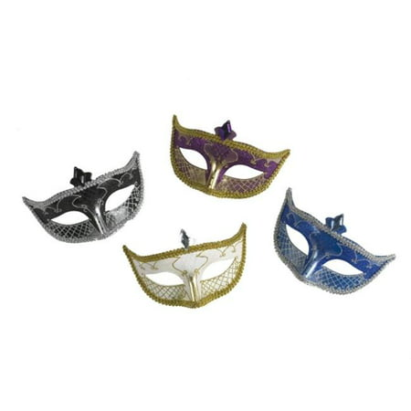Costumes For All Occasions Fw93252Bu Carnival Mask No Feather Blue (Carnevil Costumes)