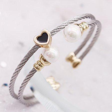 A52 Stainless steel bracelet Female Bangle Temperament Jewelry Ladies Gift - image 2 de 5