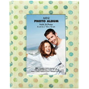"MBI Photo Brag Book 4""X6""  -Tan W/Multi Dots"