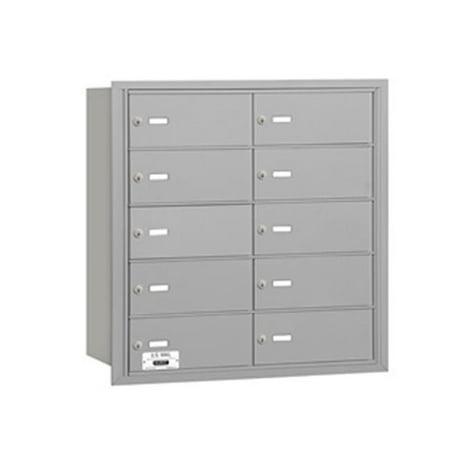 Salsbury 3610ARU Salsbury 4Bplus Horizontal Mailbox 10 B Doors Aluminu
