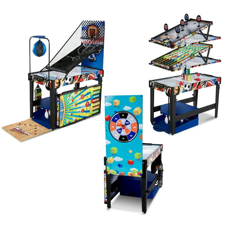 Md sports 48 inch 12 in 1 combo multi game table games for 12 in 1 game table walmart