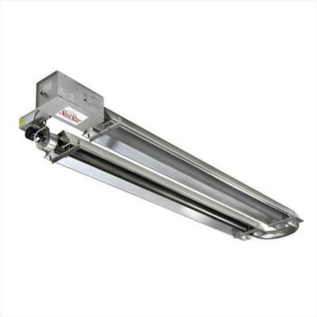 TekSupply 103208L SunStar ToughGuy Compact U-Tube Propane Heater 150K BTU - 40 ft