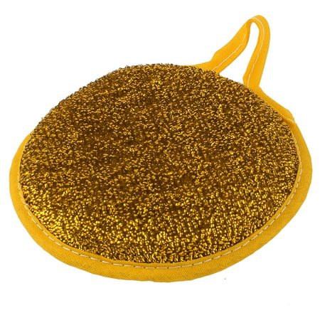 Kitchen Bowl Dish Cleaning Double Side Metal Wire Scouring Pad ...