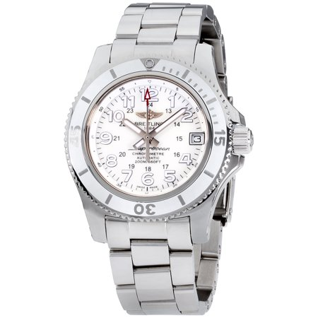 Breitling Superocean II White Dial Stainless Steel Ladies Watch A17312D2/A775/179A
