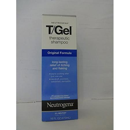 Neutrogena T Gel Therapeutic Shampoo Original Formula  Dandruff Treatment  16 Fl Oz