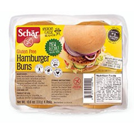 Gluten Free Hamburger Rolls (Schar Gluten-free Classic Hamburger Buns)