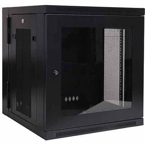 Tripp Lite Wall mount Rack Enclosure Server Cabinet with Plexiglass Door
