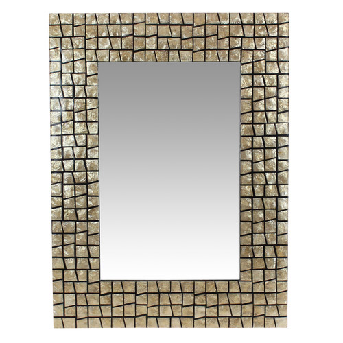 Aspire Irena Capiz Wall Mirror