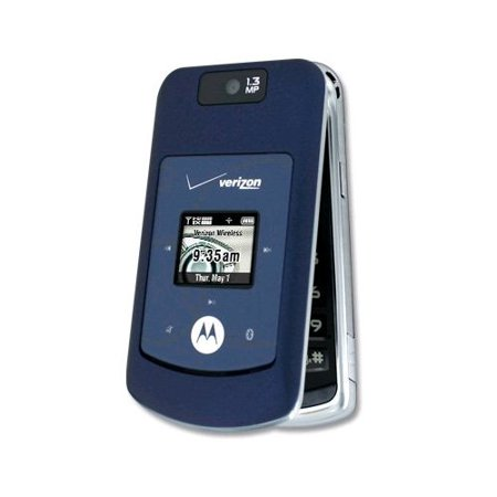 Verizon Motorola W755 Blue Mock Dummy Display Toy Cell Phone Good for Store Display or for Kids to Play Non-Working Phone Model ()