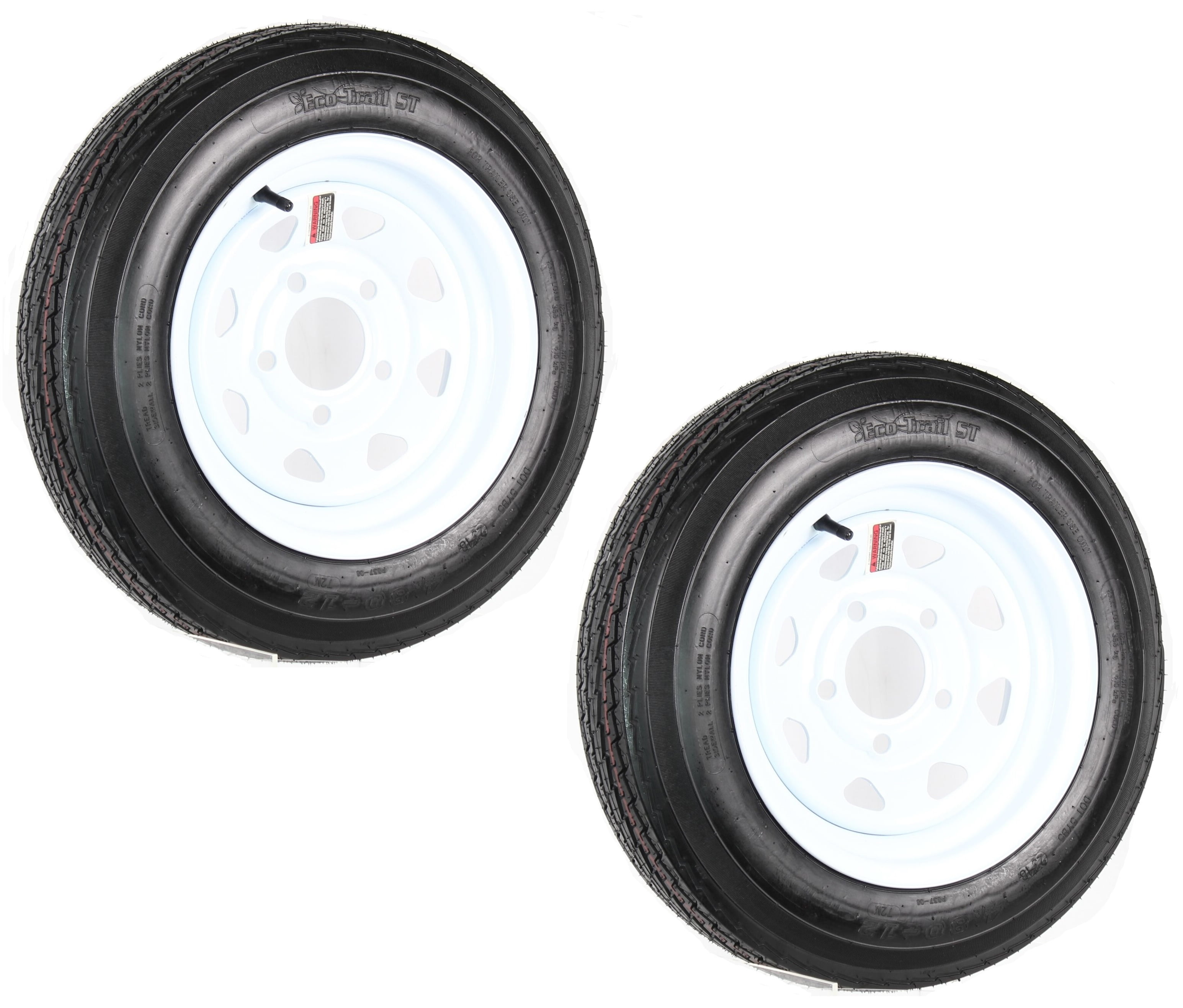 5.30-12 5.30x12 530-12 5.30-12 Boat Camper pop-up utility Trailer Tire 6ply