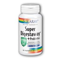 solaray super digestaway + probiotics vcapsules, 60 count
