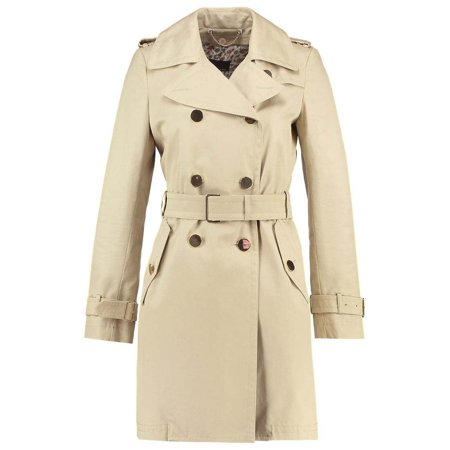 WEEKEND BY MAXMARA Belted Trench Women Coat Size 14