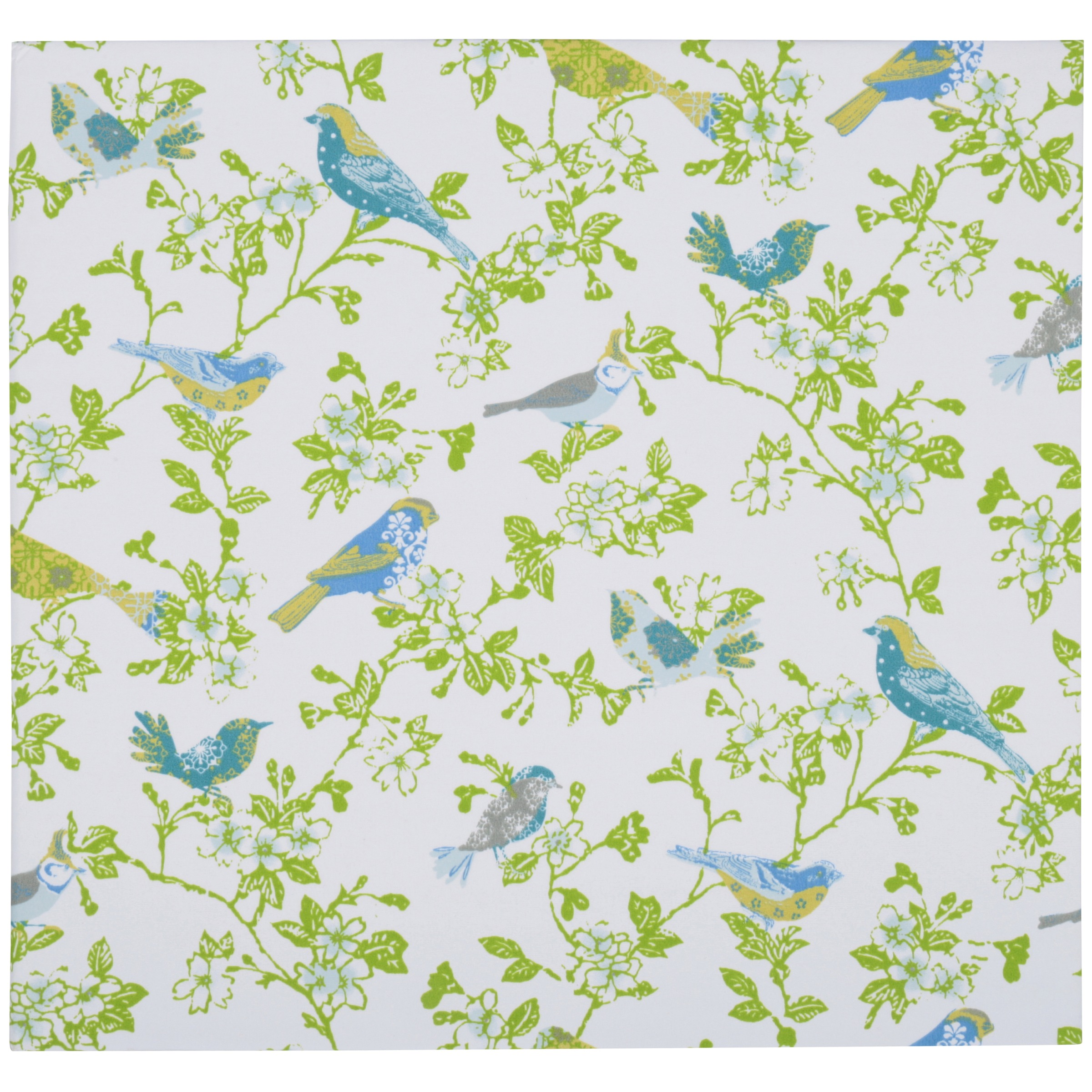 Waverly® Inspirations Blue Bird Designer Fabric Photo Album