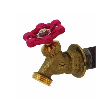 Lawn Faucet Key (/B & K 108-004 Outdoor Hose Lawn Faucet 3/4-Inch Brass Female Pipe Thread Sillcock, Muellar #108-004 3/4 Brass FPT Sillcock Ship from US..., By Mueller)