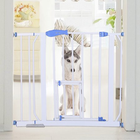 Safety Gates Baby Stair Fence Barrier Pet Dog Gate Door Ramp Guardrail Isolation