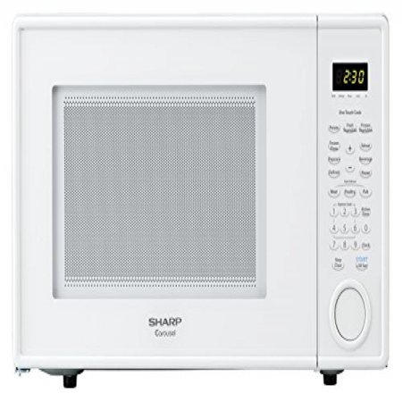 Sharp Countertop Microwave Oven ZR309YW 1.1 cu. ft. 1000W White ...