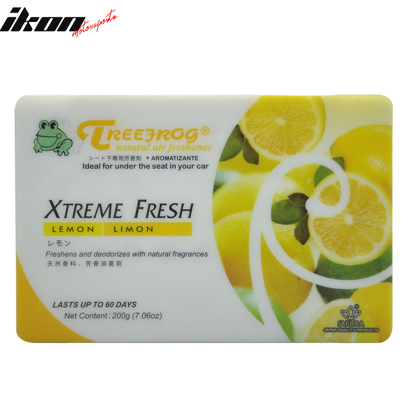 Treefrog Tree Frog Xtreme Fresh Air Freshener Lemon Scent Auto Car Office Home