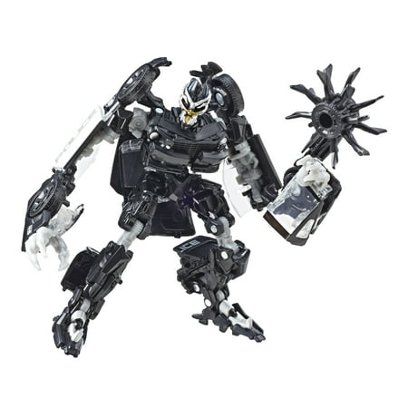 Square D Transformer (Transformers Series 28 Deluxe Class Transformers Movie 1 Barricade )