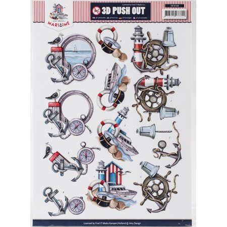 Find It Amy Design Maritime Punchout Sheet-Maritime #3 - image 1 de 1