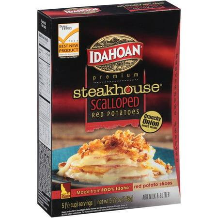 (Idahoan Premium Steakhouse Scalloped Red Potatoes, 5.22 oz)