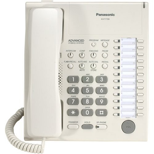 Panasonic Kx-t7720 24 Button Advanced Hybrid Speakerphone/telephone (kxt7720)